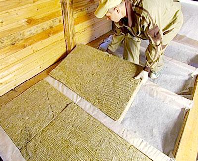 Утепление деревянных домов: полы, потолок, стены.