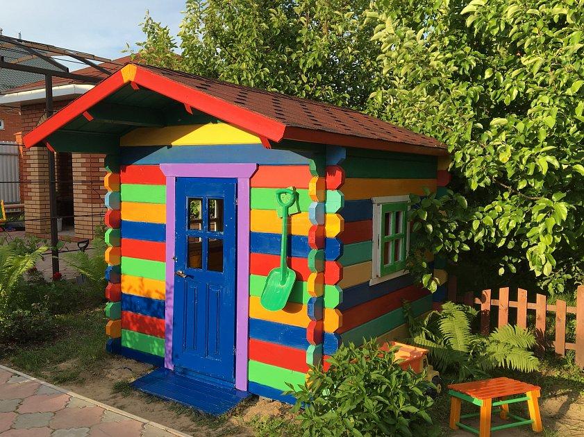 строительство детских домиков фото